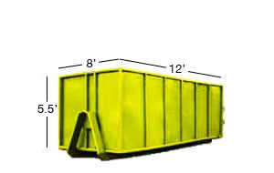 12 yard roll-off bin rental calgary